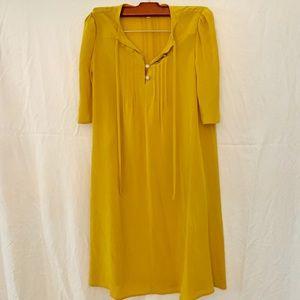 McQ by Alexander McQueen Mustard Dress